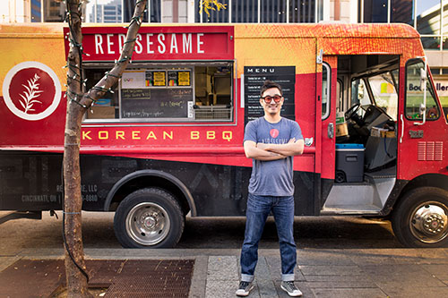 Red Sesame BBQ Korean Taco Truck