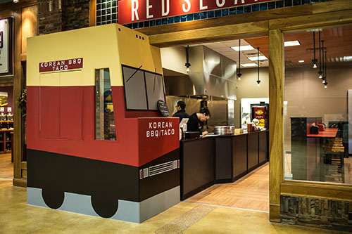 Red Sesame in Jungle Jim's Eastgate